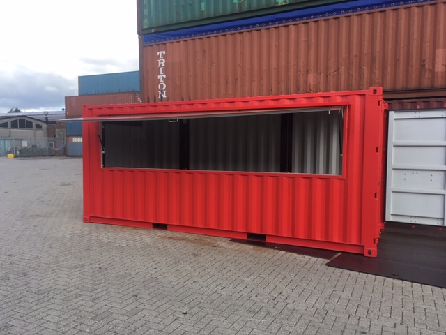 flap container