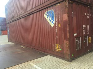Gebruikte 40ft Pallet Wide container