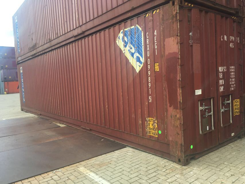 Used 40ft palletwide container