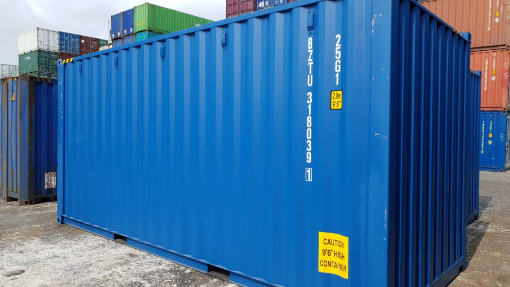 20ft highcube container